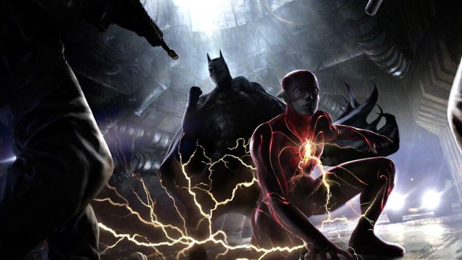 the flash batman