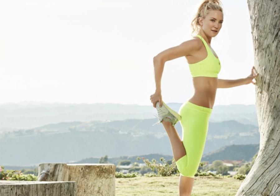 Kate Hudson active wear
