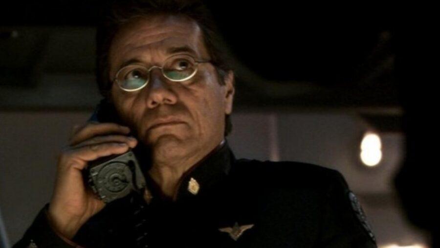 Edward James Olmos as Adama