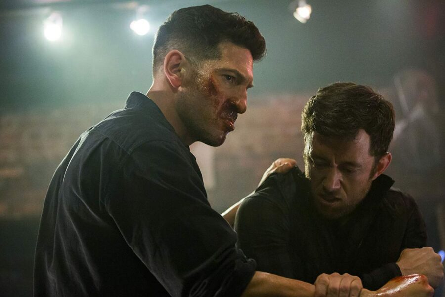 Jon Bernthal and violence