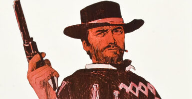 clint eastwood fistful of dollars feature