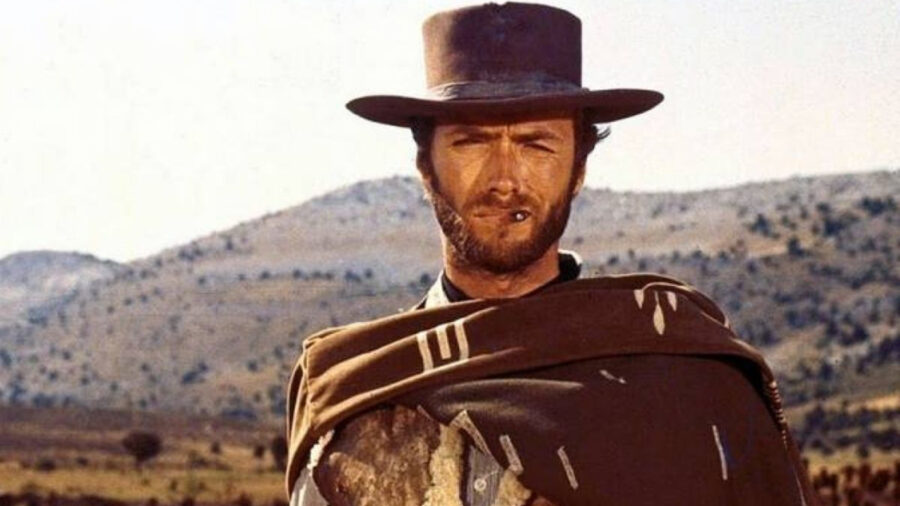 clint eastwood fistful of dollars man with no name
