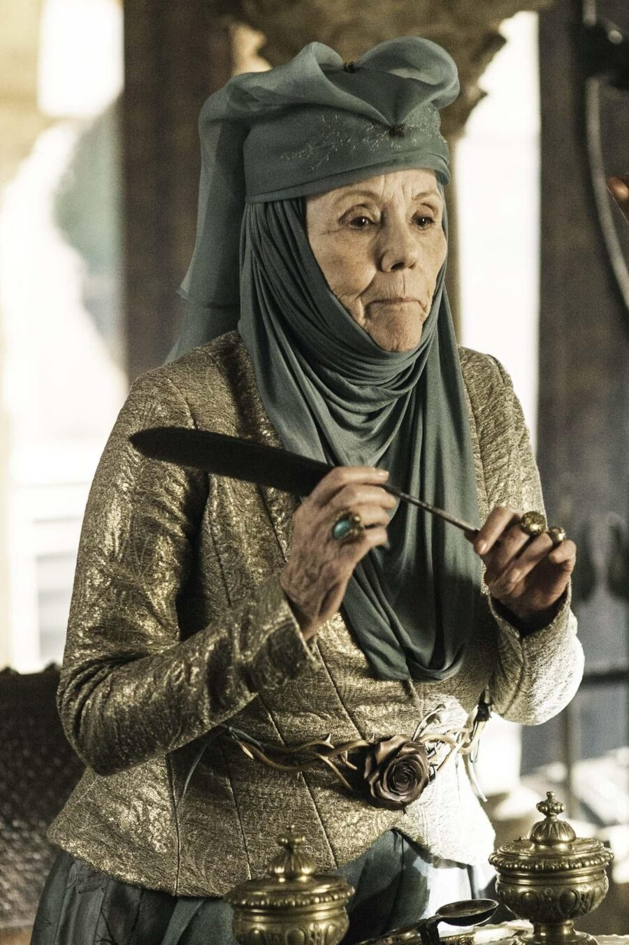 Diana Rigg on Game of Thrones