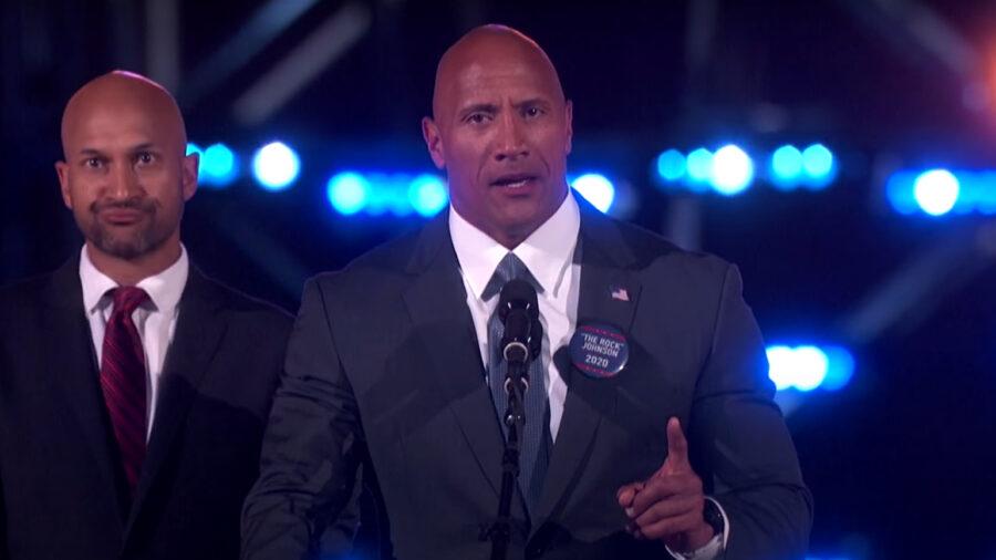 dwayne the rock johnson president