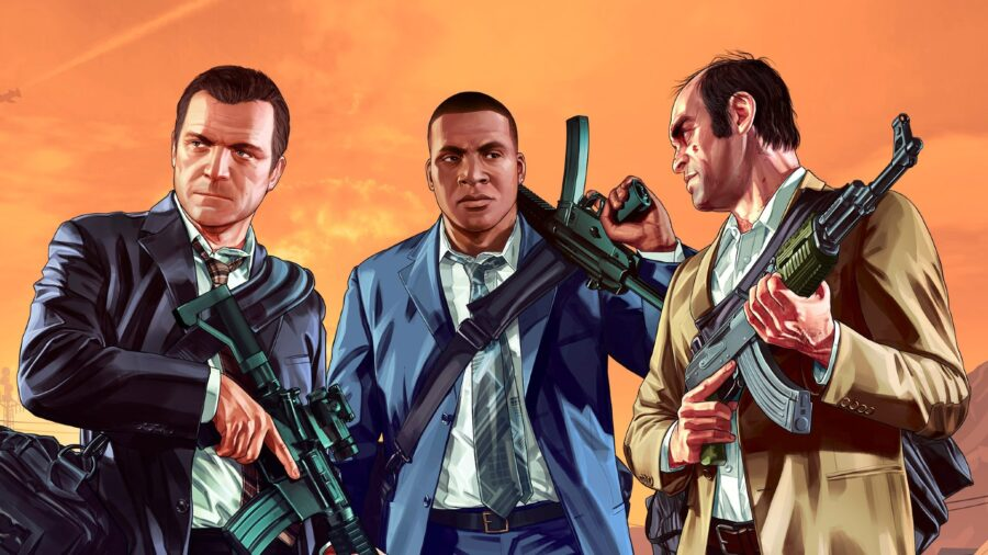 grand theft auto movie characters