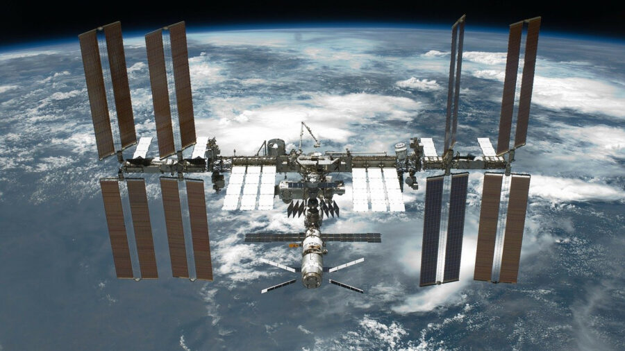 international space station feature