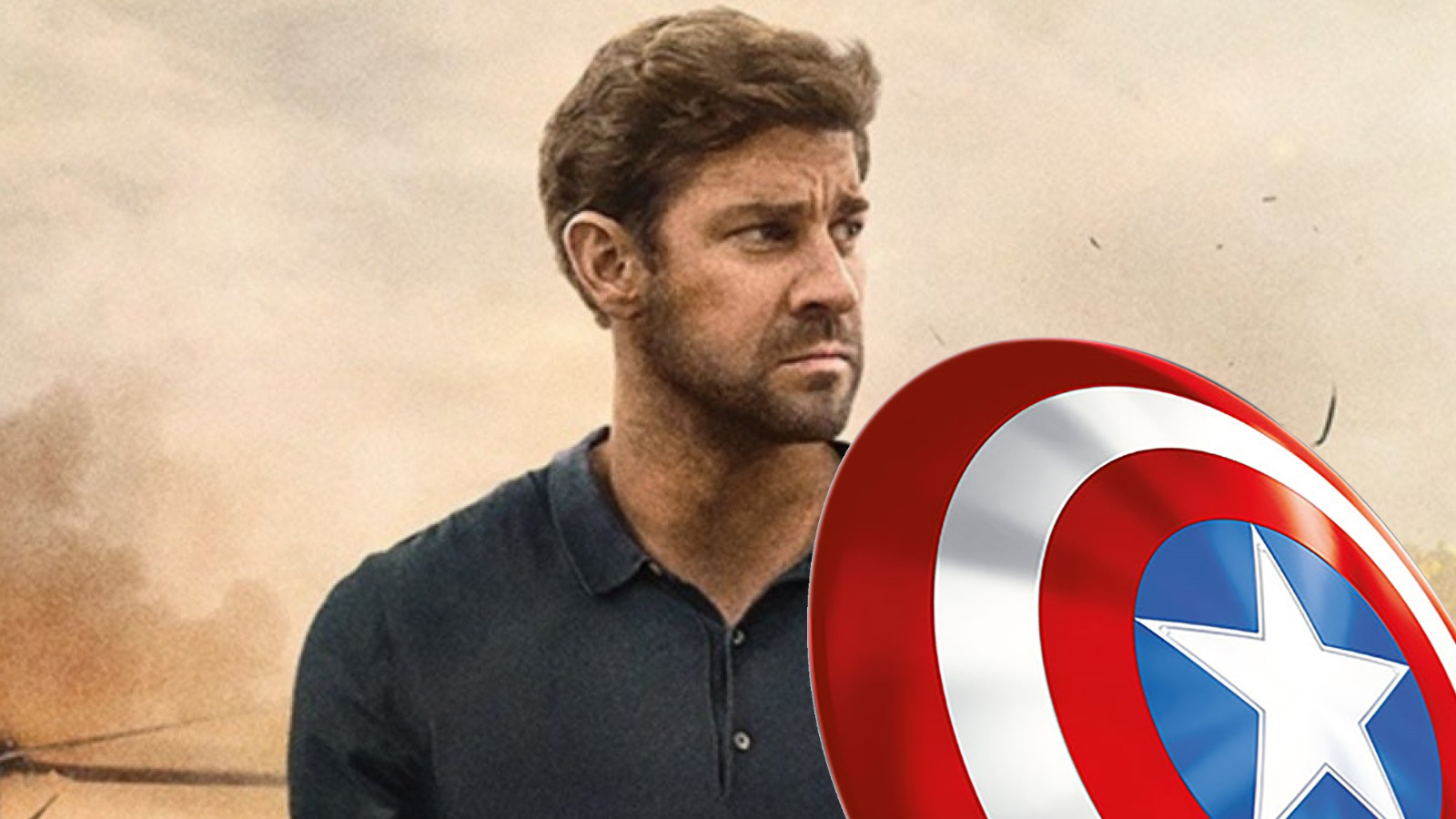 John Krasinski To Play Captain America For Marvel?