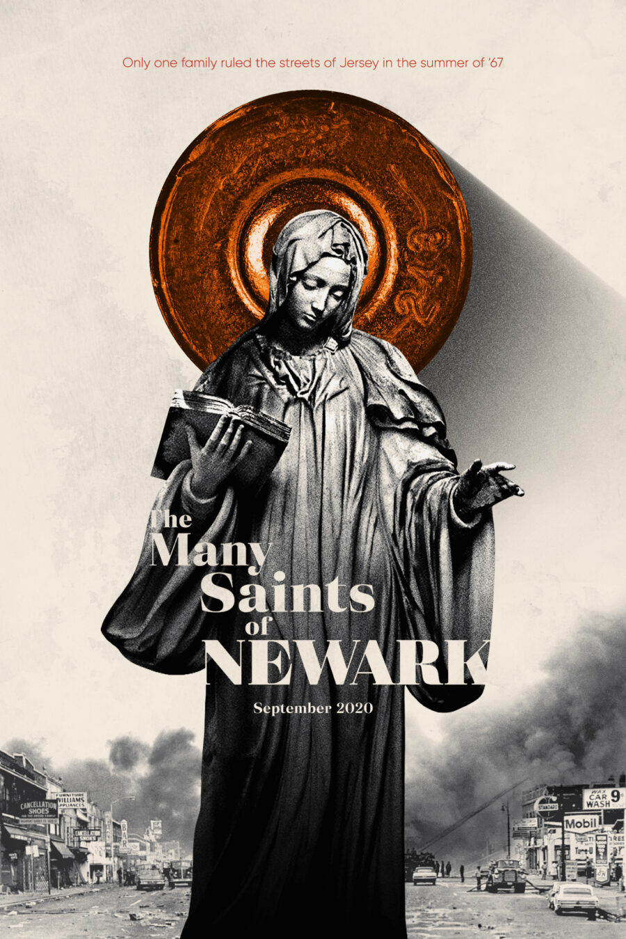 sopranos prequel many saints of newark poster
