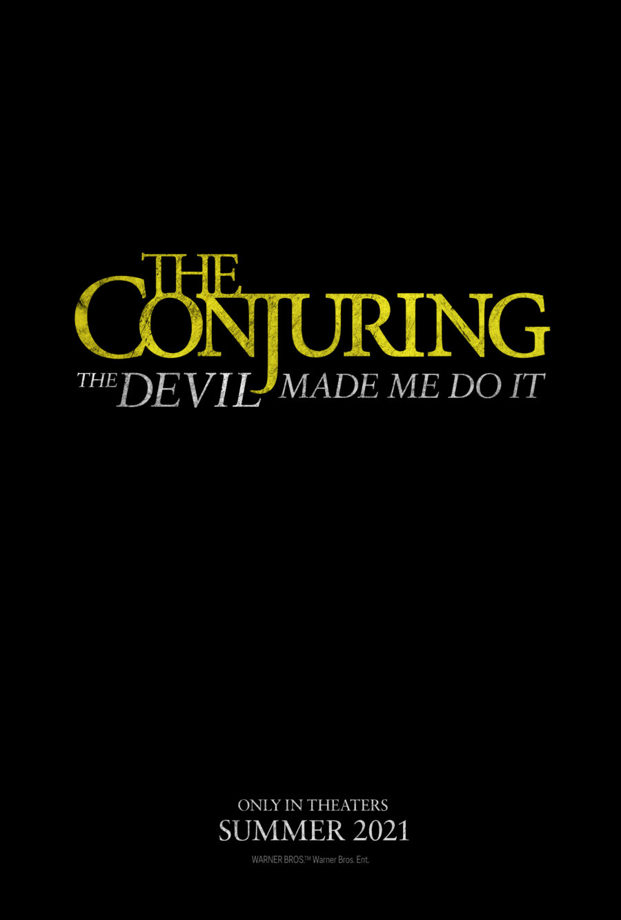 the conjuring 3 poster