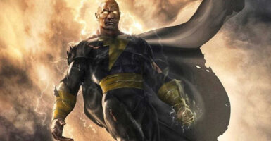the rock black adam feature