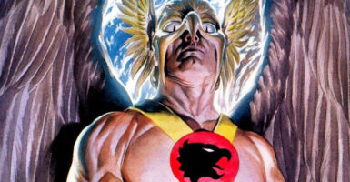 the rock hawkman feature