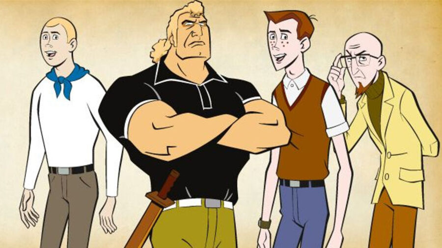 venture brothers feature