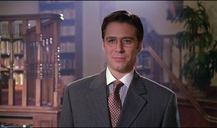 Wesley on Buffy