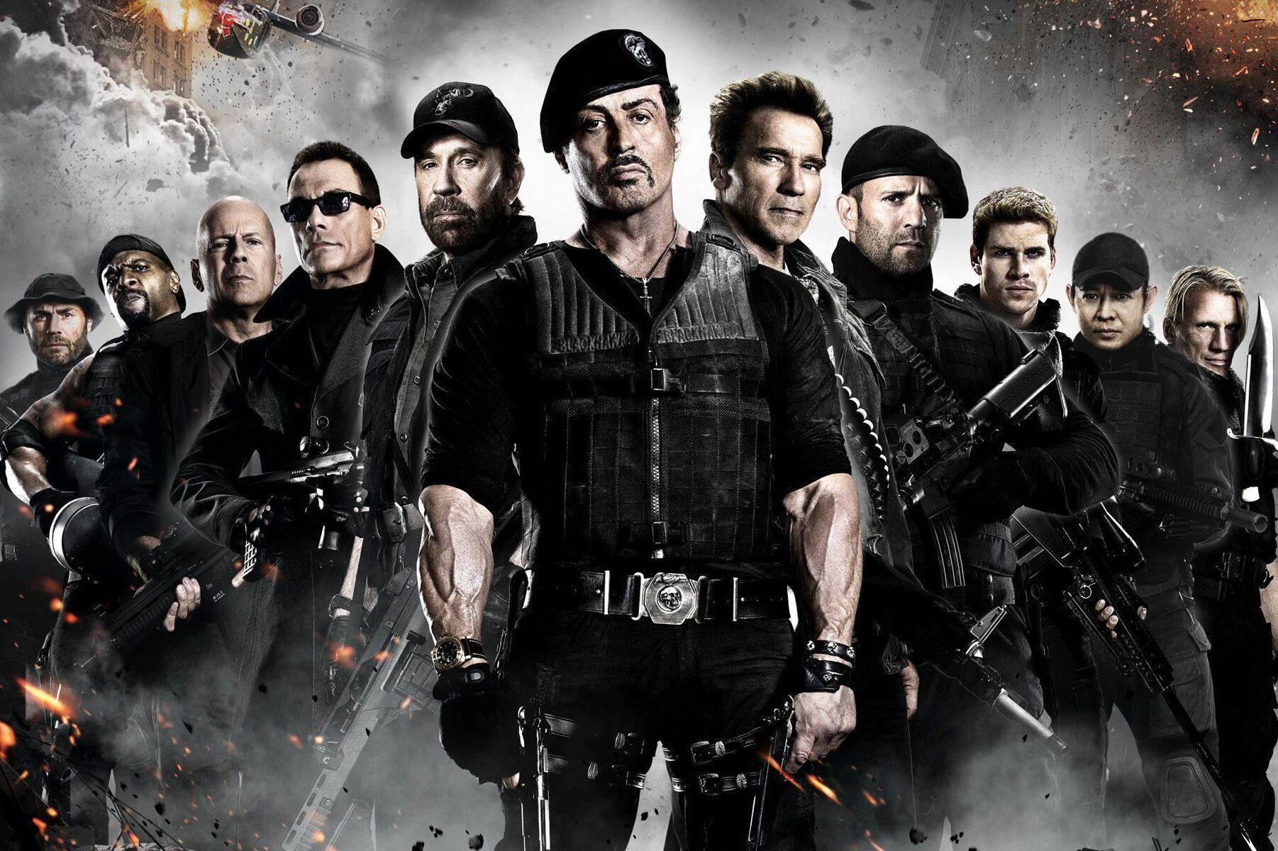 Sylvester Stallone working on Expendables 4