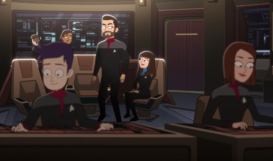 Captain Will Riker on the Titan
