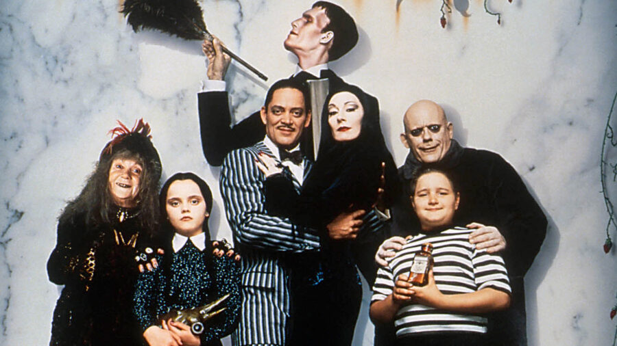 addams family feature