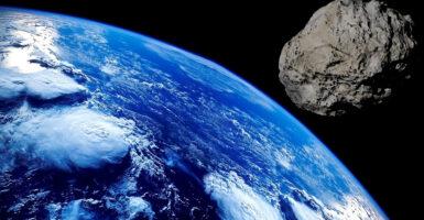 asteroid, earth