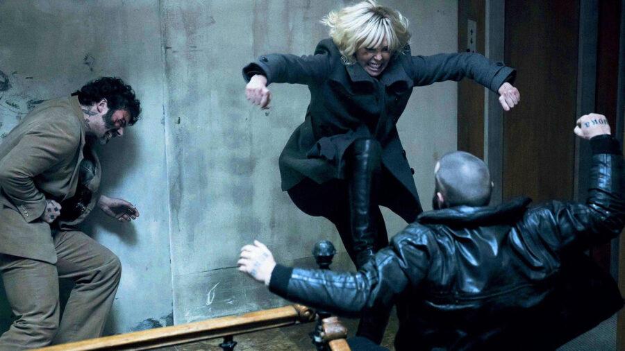 atomic blonde fight scene