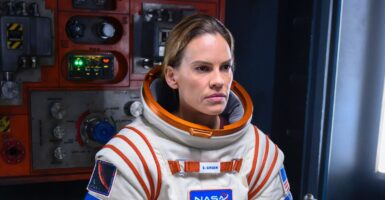 Hilary Swank Away
