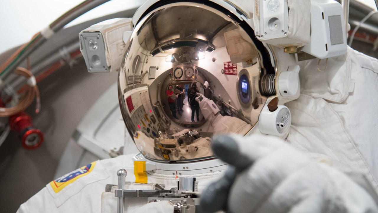 Watch Astronauts Use The Bathroom In Their New Space Toilet