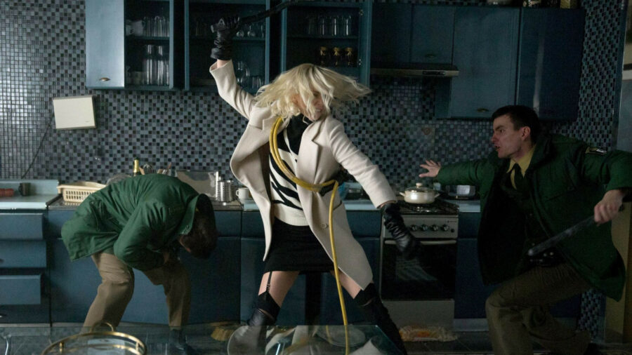 charlize theron fight scene