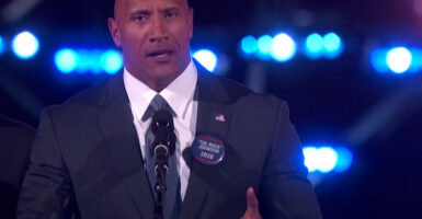 dwayne johnson president