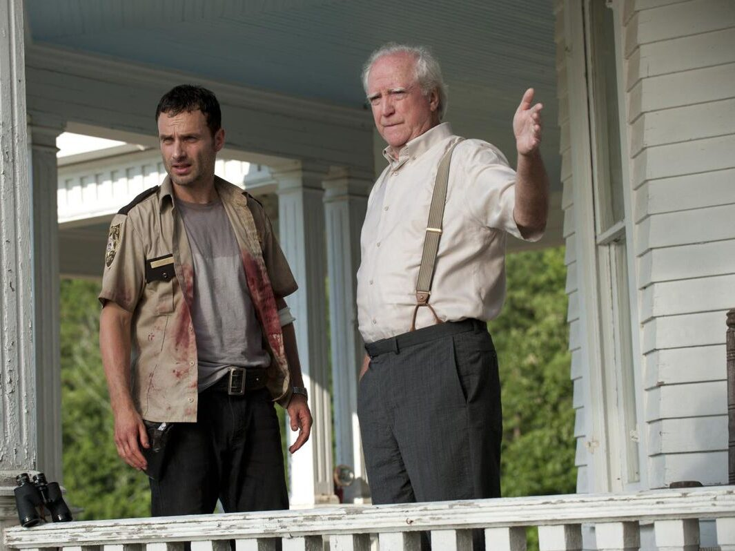 Scott Wilson on The Walking Dead