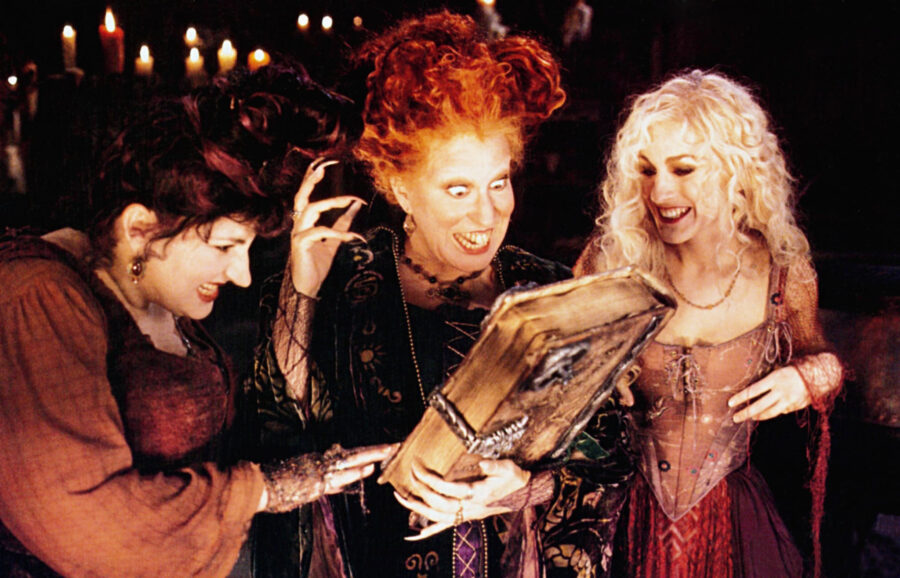 bette midler sarah jessica parker witches