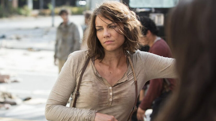 lauren cohan walking dead feature
