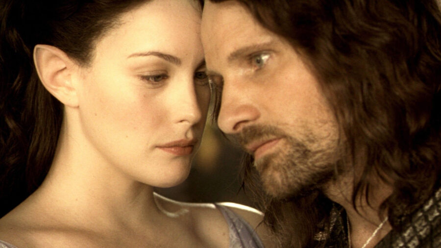 lord of the rings arwen aragorn