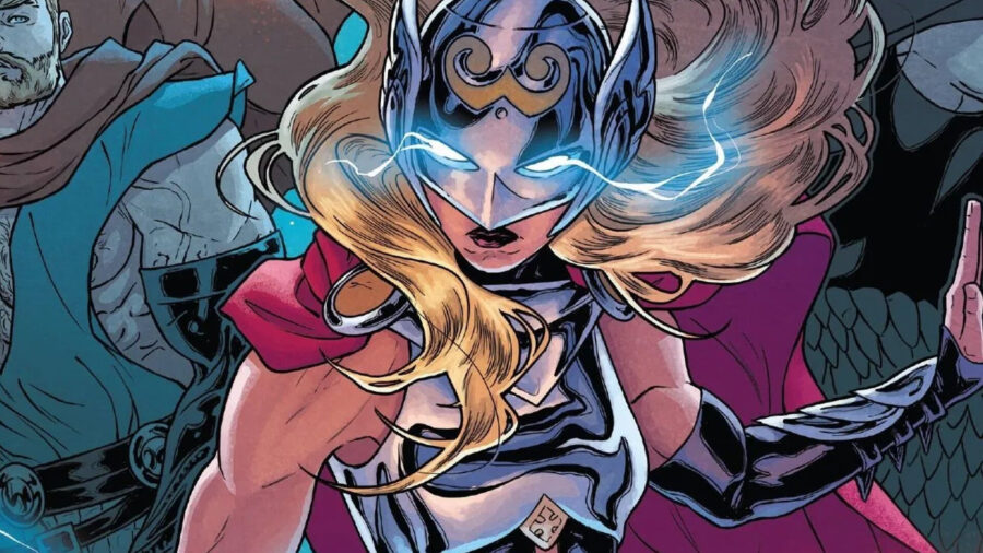 mighty thor comic jane foster