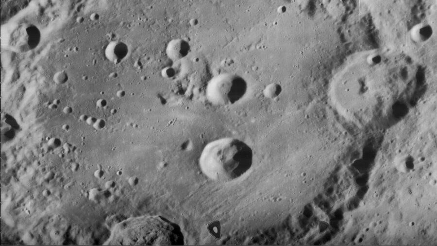 moon clavius crater
