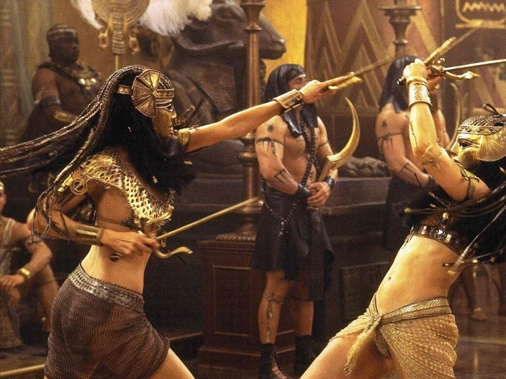 The Mummy fight