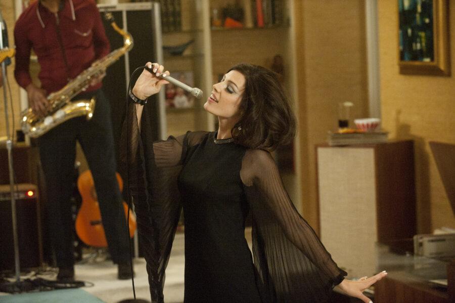 Megan Draper sings