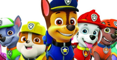 paw patrol feature