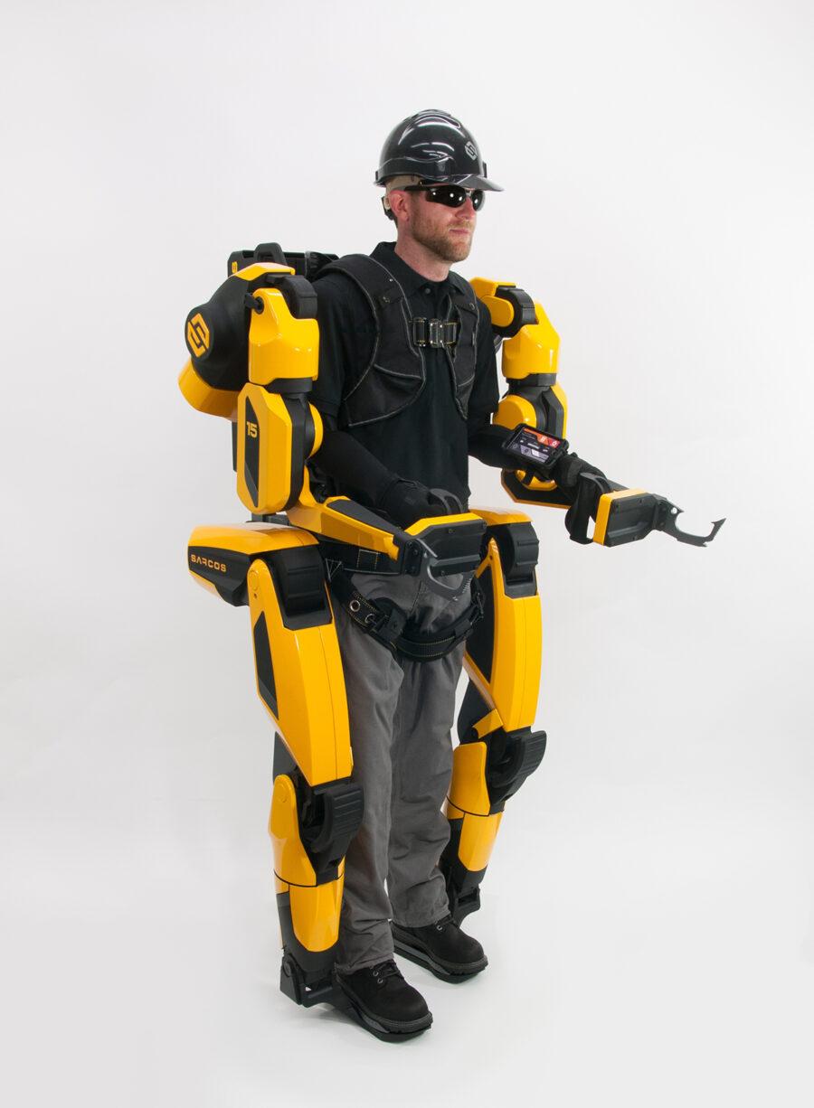 sarcos exoskeleton robots
