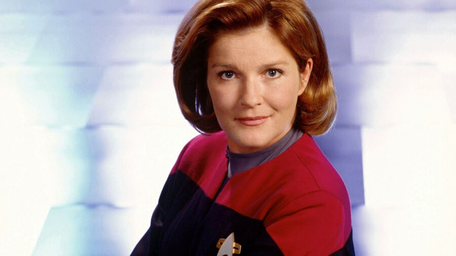 star trek voyager captain