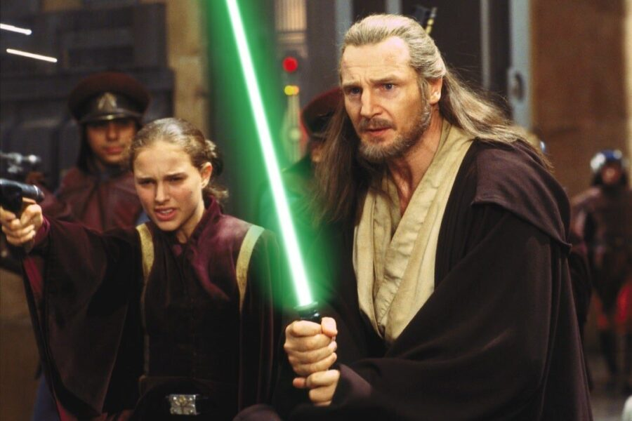 george lucas Liam Neeson Star Wars