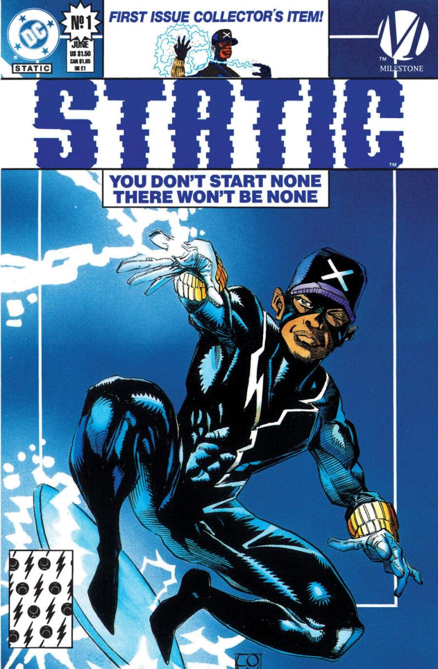 static shock comic