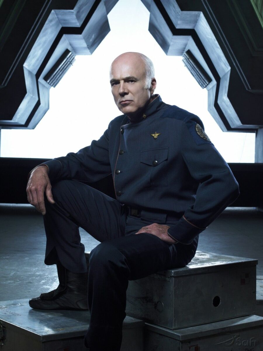 Michael Hogan on Battlestar Galactica
