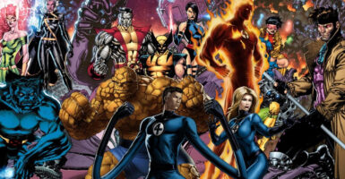 x-men fantastic four feature