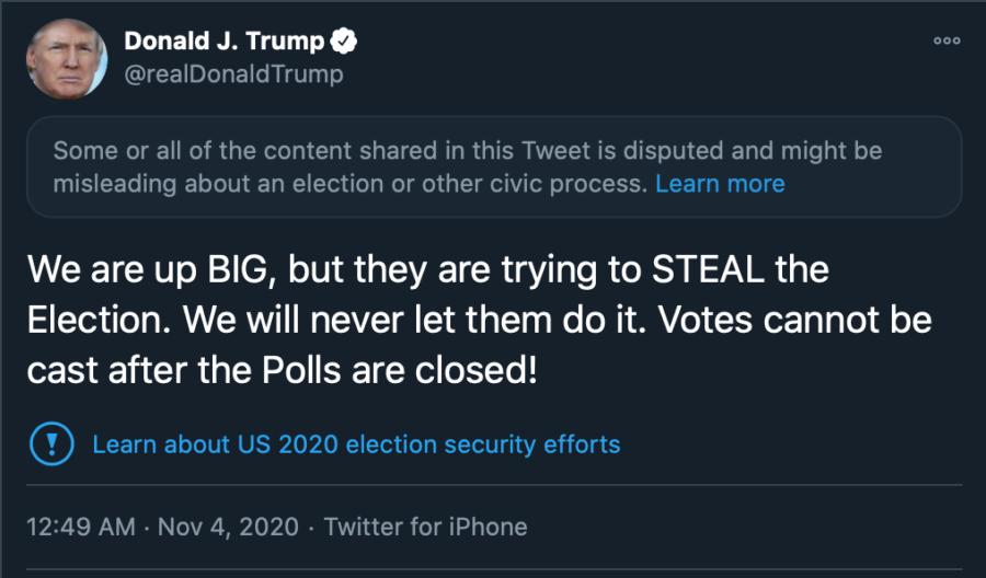 1st Trump Tweets