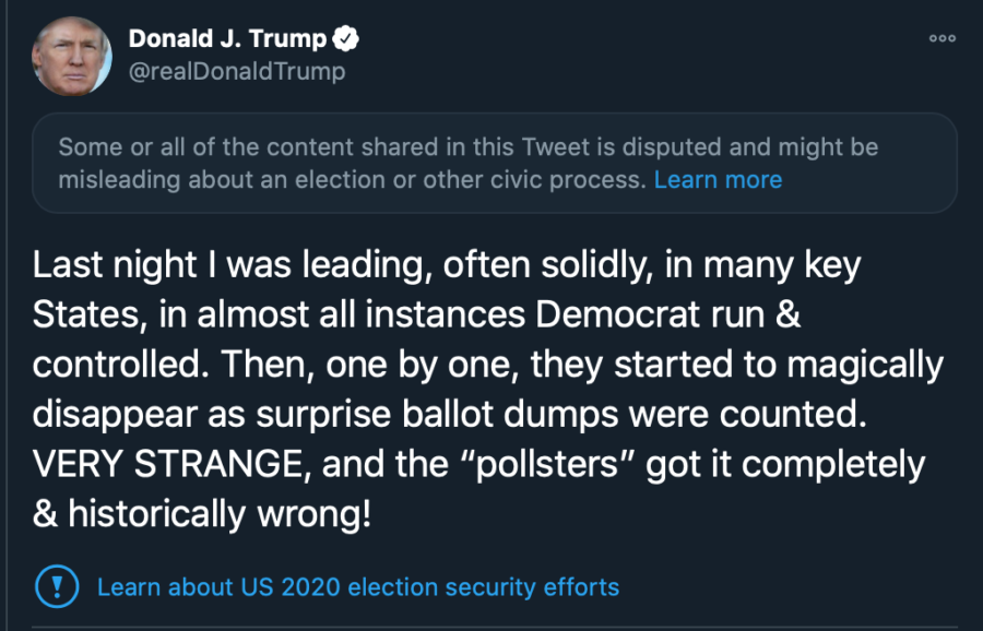 2nd Trump Tweets
