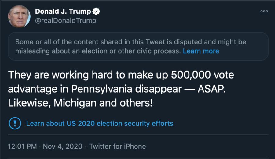 4th Trump Tweets