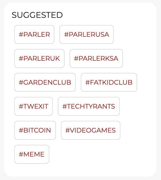 Trending Parler