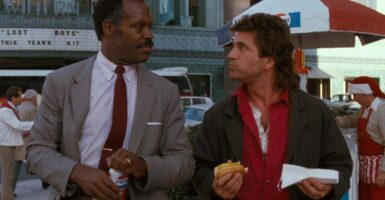 Lethal Weapon Mel Gibson