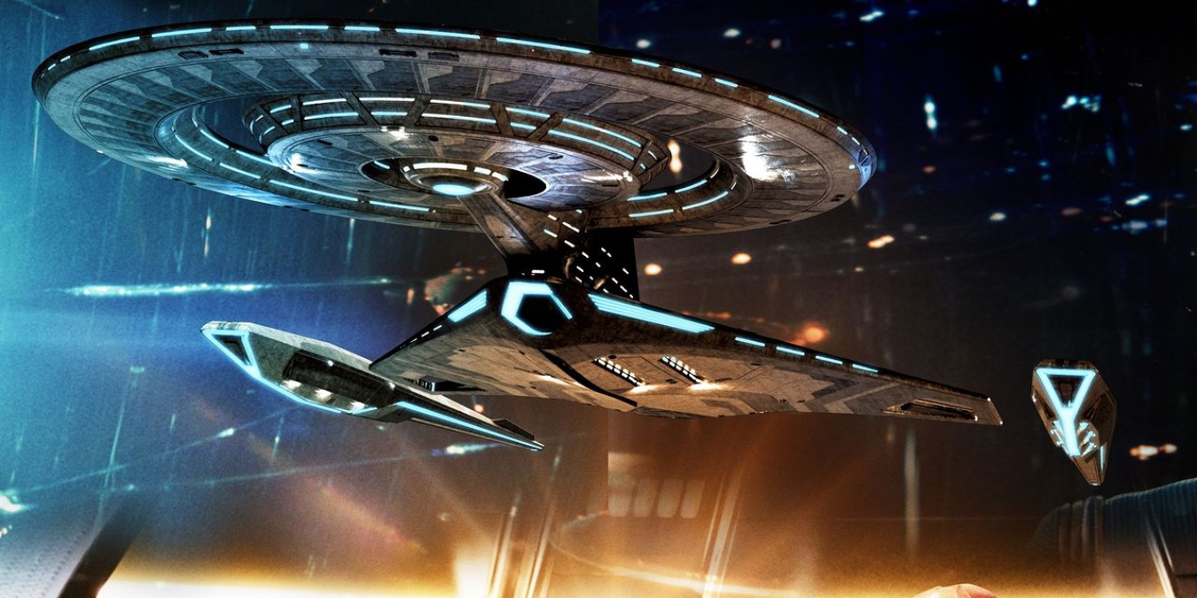 Star Trek's Discovery-A Has Holodecks, Best Image Yet Of The New Ship