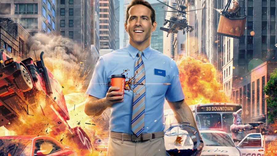 free guy ryan reynolds poster