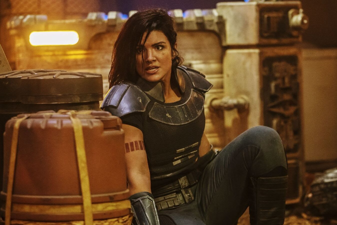 Gina Carano May Actually Be Fired From The Mandalorian For Her Views
