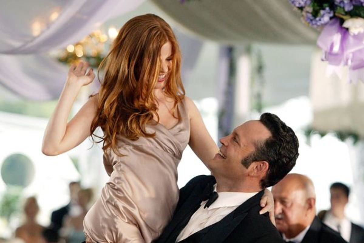 Vince Vaughn Isla Fisher Wedding Crashers